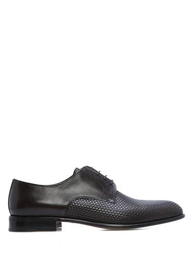 %100 Deri Bağcıklı Klasik Ayakkabı-Moreschi